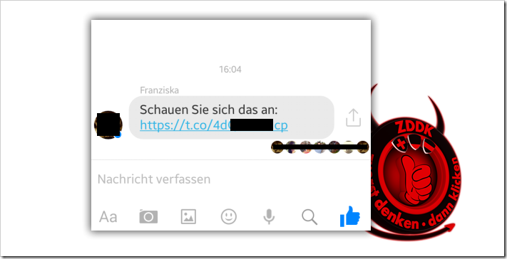 fake facebook chat recovery