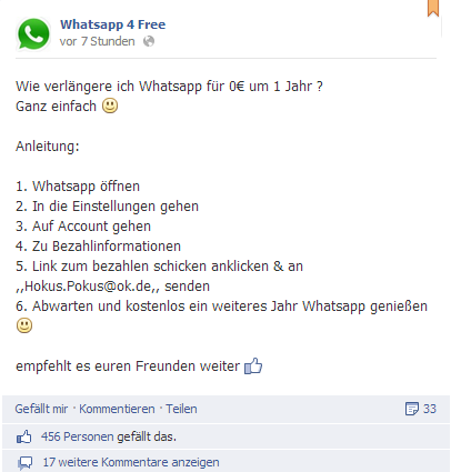 Whatsapp 4free