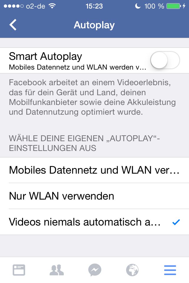 iPhone Autoplay