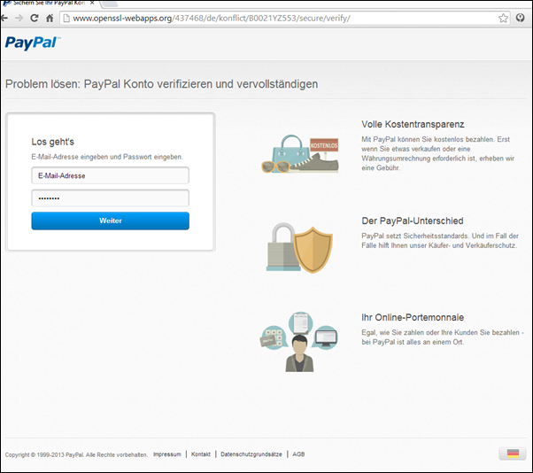 paypal phishing verd chtige zahlung erkannt mimikama. Black Bedroom Furniture Sets. Home Design Ideas