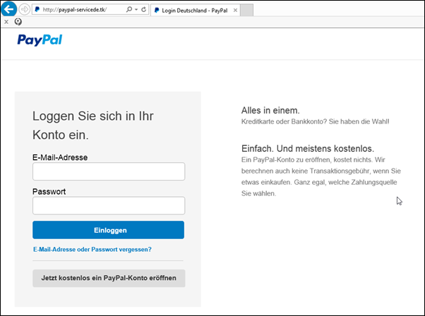 Meine Paypal Email Adresse