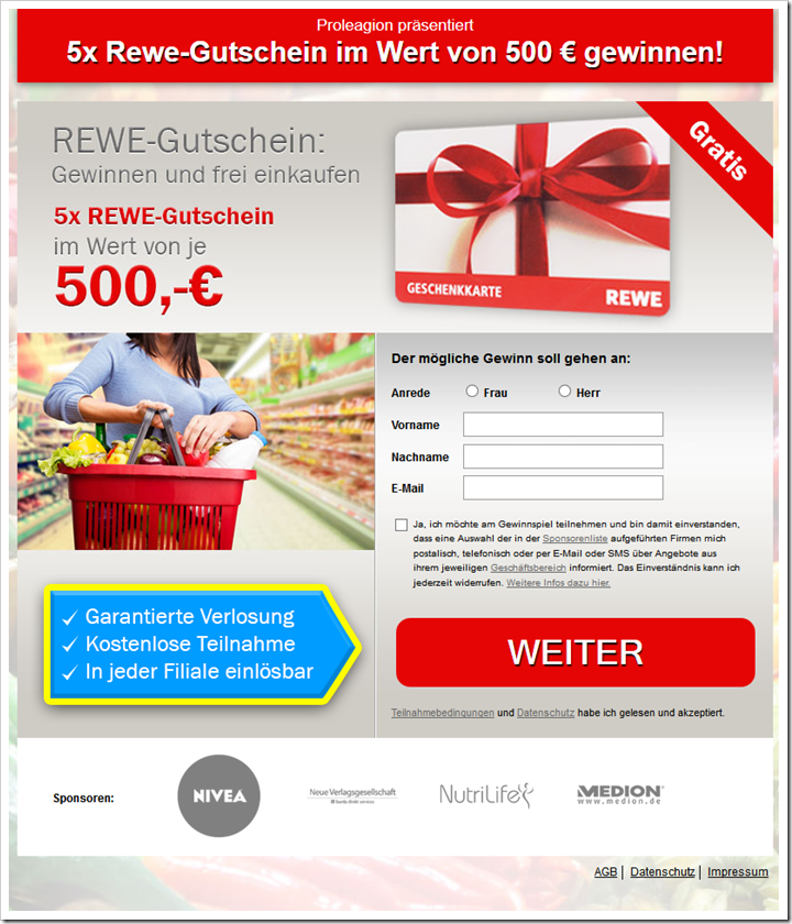 rewe gewinn 500 euro. Black Bedroom Furniture Sets. Home Design Ideas
