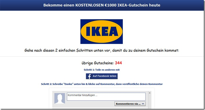 gewinnspiel ikea gutschein. Black Bedroom Furniture Sets. Home Design Ideas