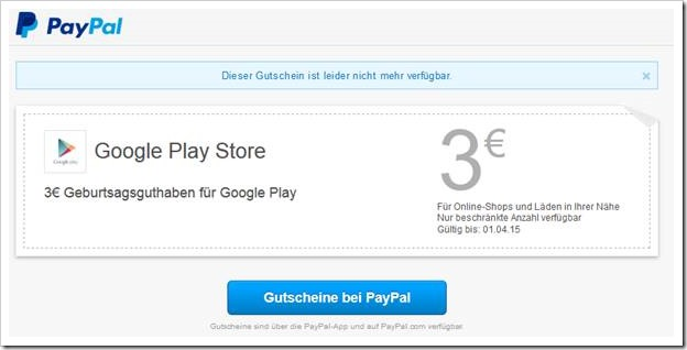 kein phishing mail von paypal feiern sie den geburtstag von google play mimikama. Black Bedroom Furniture Sets. Home Design Ideas