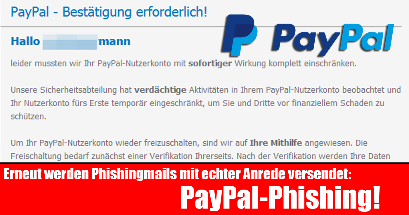 Jobcenter Paypal