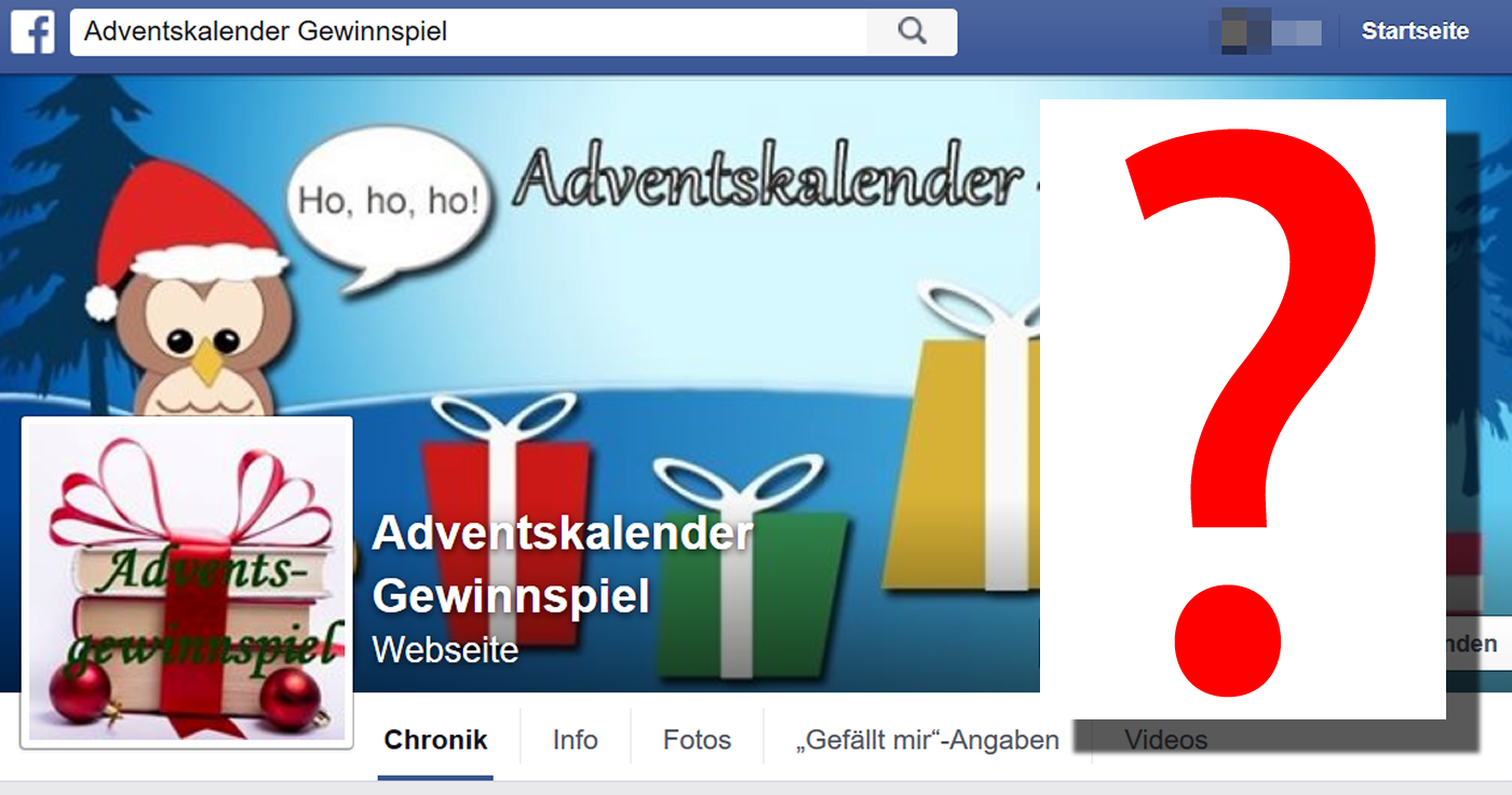 adventskalendergewinnspiel facebook