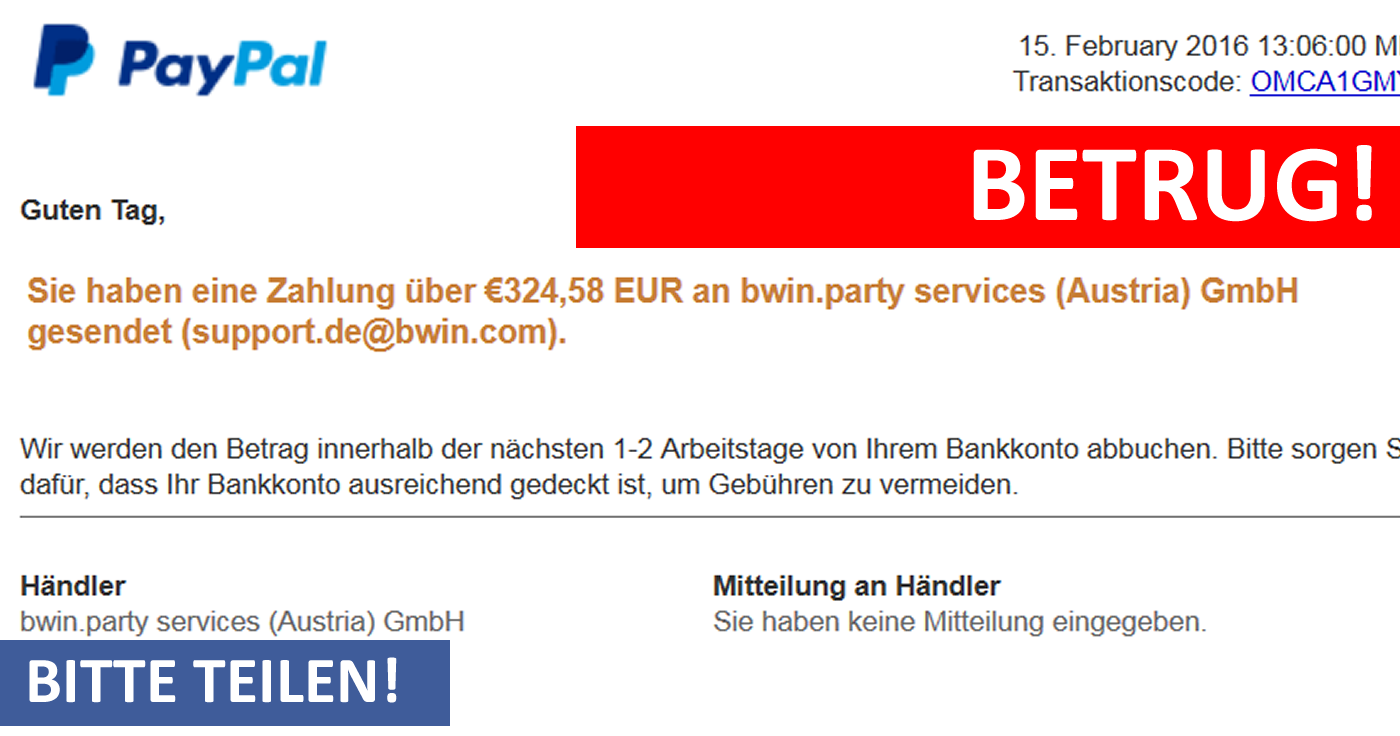 Bwin Party Services Austria