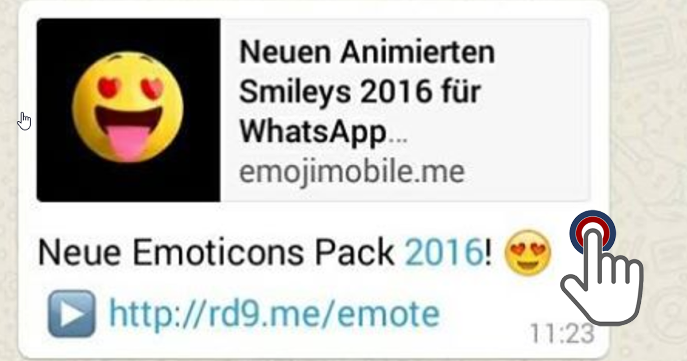 WhatsApp-Falle: Neue Emoticons Pack 2016 • mimikama