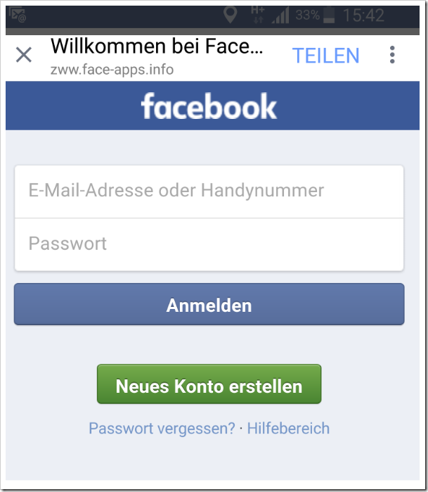 facebook login games