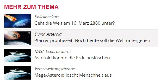 Screenshot: www.OE24.at
