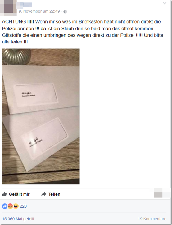 Cd Koran Vergiftet