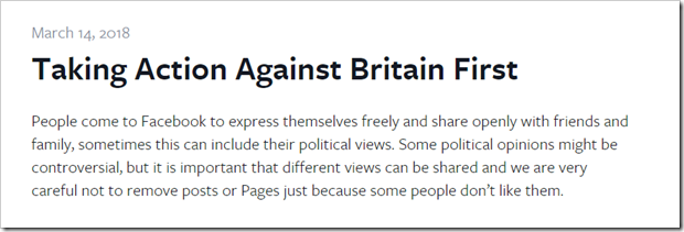 Quelle: https://newsroom.fb.com/news/h/taking-action-against-britain-first/