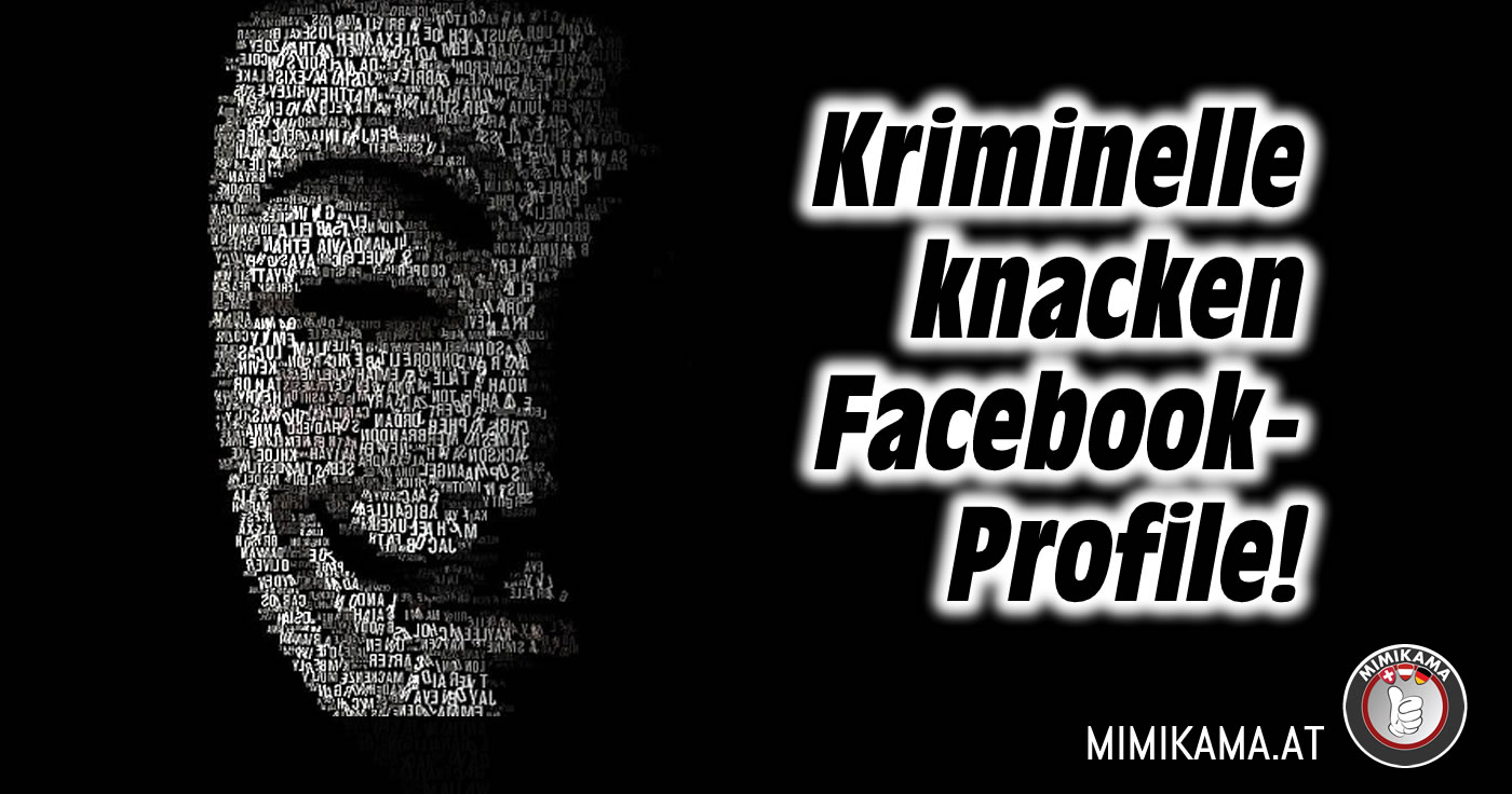 kriminelle knacken facebook profile mimikama. Black Bedroom Furniture Sets. Home Design Ideas