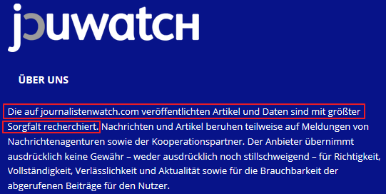 Screenshot Jouwatch
