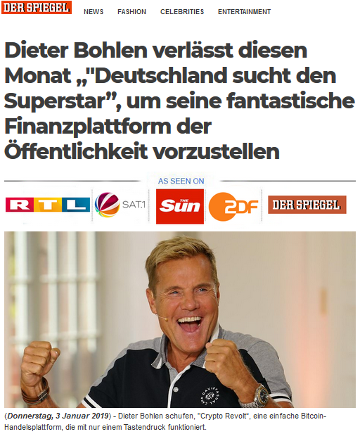 Bitcoin Superstar Bohlen
