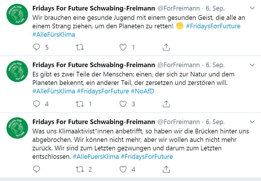 Fake Account streut bewusst irritierende Tweets
