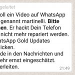 Der Martinelli-Virus mit WhatsApp Gold Updates