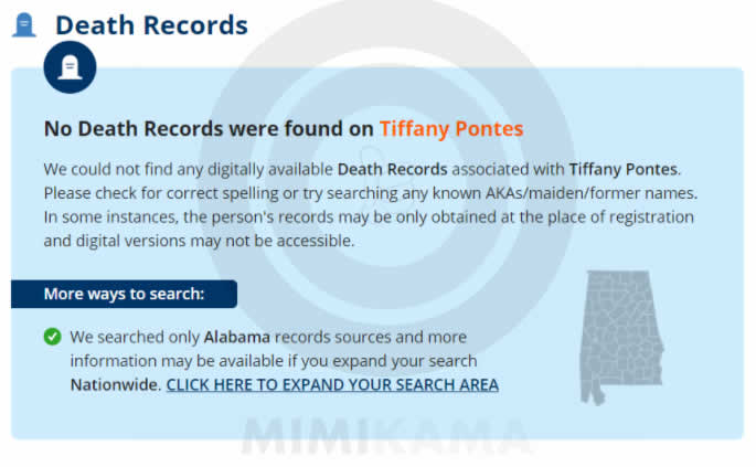 Screenshot / searchquarry.com / Tiffany Pontes